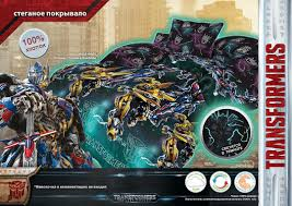 transformers the last knight bed sheet sets 001