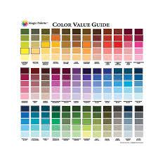 White Knight Paving Paint Colour Chart Buy Magic Palette Artists Color Value Guide