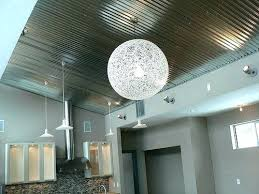 sheet metal ceiling ideas building green in corrugated corrugated metal ceiling