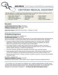 Resume Templates Medical Assistant Unique 48 Unique Medical Assistant Resume Template Sample Free Office