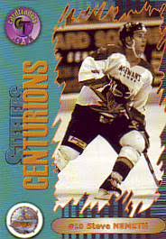 2000-01 UK Sheffield Steelers Centurions Steve Nemeth 16 - We specialize in  minor league, junior and European hockey cards plus food, regional and team  issued cards and postcards.