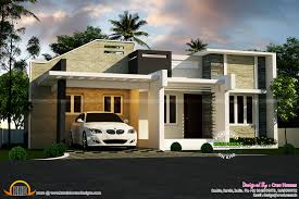 Small Picture Contemporary Single Floor House Plans In Kerala Ideasidea