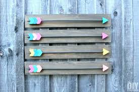 wooden arrow wall decor s uk diy how to make wood