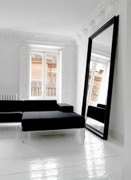 apply big mirrors for wall and get all advantages oversized mirror for wall with black