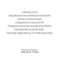 wedding vows personal, secular snippet & ink snippet & ink Wedding Vows Non Denominational Wedding Vows Non Denominational #27 non denominational wedding vows examples