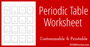 20 Periodic Table Of Elements Worksheet, Free Periodic Table Of ...