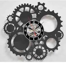 30 cm mechanic gears wall art cafe bar