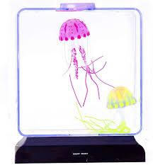 Jellyfish Tank Mood Light Amazon Square Artificial Jellyfish Tank Led Light Up Mood Lamp
