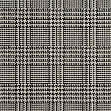 a940 classic black and white houndstooth woven jacquard upholstery fabric