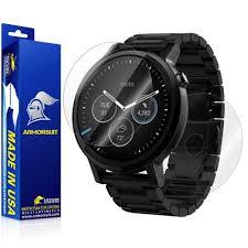 moto 2nd gen watch. motorola moto 360 46mm 2nd generation 2015 screen protector + full body skin gen watch t