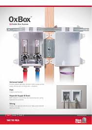 Box Drain Design Outlet Box System Universal Install Fast Separate Supply