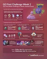 GO Fest Week 2 Challenge: Battle - Leek Duck   Pokémon GO News and Resources