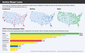 Southwest Airlines To Buy Airtran Wsj