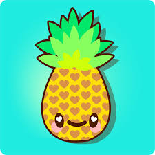 pineapple drawing step by step. how to draw a simple, super kawaii pineapple in adobe illustrator (via vector. drawing step by