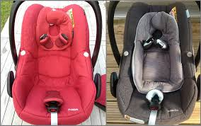 maxi cosi pebble and pebble plus seat