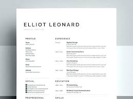 Creative Resume Template Free Free Resume Templates For Word Word ...