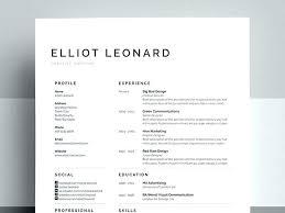 Creative Resume Template Free Free Resume Templates Creative Cv ...