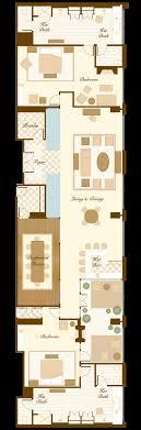 Master Bedroom Suite Floor Plans Chairman Suite At The Bellagio Hotel Las Vegas Floorplans I