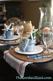 Nautical Table Settings 17 Best Images About Dining Table On Pinterest Wicker Dining