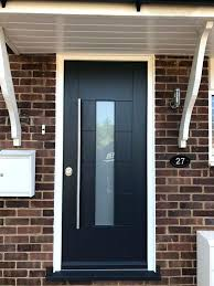 impressive modern front doors with glass panels best images on door entry stained wi