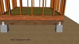 storage shed floor plans paint garden joist spacing kit maxresdefault five ways how to build home