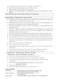 Head Clerk Sample Resume Ha
