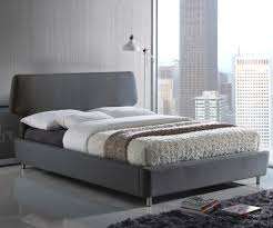Sienna Bedroom Furniture Time Living Sienna Grey Fabric Bed Frame Bedsdirectuknet