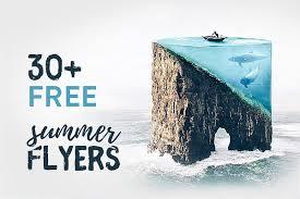 30 Best Free Summer Flyer Templates Dussk Design