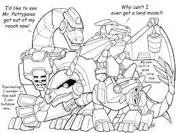 rescue bots boulder coloring page