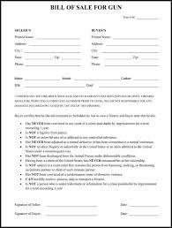 Resume Of Household Template Sale Form Bill Sample Gun