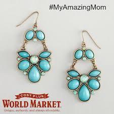 aqua chandelier earrings cost plus world market myamazingmom and fan sweepstakes