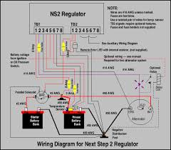 next step regulator, v2 manual how to wire two 12 volt batteries to make 24 volts at 24 Volt System Wiring Diagram