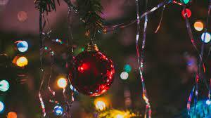 Wallpaper Christmas Tree, Ball, Fir ...