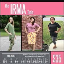 New Lularoe Irma Tunic Size Xl See Sizing Chart Depop
