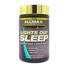 Lights Out Sleep Allmax Review Lights Out Sleep By Allmax 60 Capsules