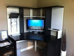 ikea furniture desk. Furniture Black And White Ikea Corner Desk Design Ideas Small With Hutch N