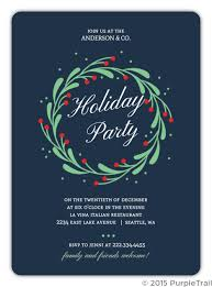 Corporate Holiday Party Invite Business Holiday Party Invites