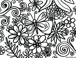 Spring Flowers Coloring Pages Spring Flowers Coloring Pages Spring