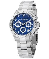 original concorso swiss quartz chronograph 665b 02 men s watch stuhrling original concorso swiss quartz chronograph 665b 02 men s watch