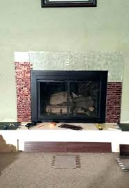 brick fireplace mantel mantels on building surround over colors