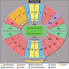 Rose Bowl Seating Chart Ucla Football 60 Explanatory Rose Bowl Football Seating Chart