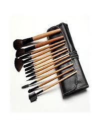 makeup brush set with bag 12pcs