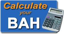 Military Bah Chart 2018 Bah Calculator