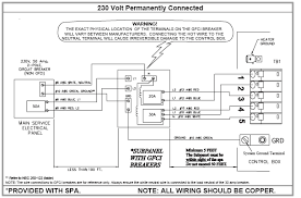 spa wiring 4 wire caldera portable hot tubs & spas pool and Breaker Box Wiring Diagram Red Black White caldera wiring jpg Circuit Breaker Box Wiring