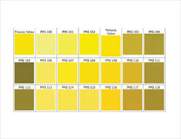 Shades Of Orange Color Chart 15 Word Pantone Color Chart Templates Free Download Free