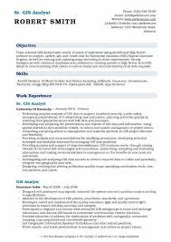 Gis Analyst Resume Sample Qa Resume Samples Resume Examples Resume Template
