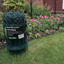 garden border fence. image is loading garden-border-fence-green-pvc-coated-lawn-edging- garden border fence i