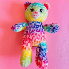 Dolls & Bears Bears Build-a-Bear BUILD A BEAR Frank Leopard Rainbow Plush  Stuffed Cat C10