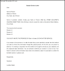 Eviction Letter Template Uk Inspiration Sample Eviction Notice Document Preview Landlord To Quit Letter