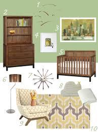 my modern nursery  midcentury muted modern Â« buymodernbabycom
